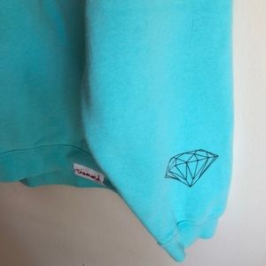 Mint Green Diamond Supply Crew Neck